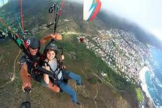 Cape Town paragliding - Bing images
