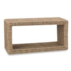Household Essentials Seagrass Coffee Table
