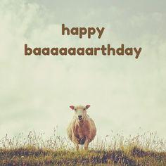 Happy Baaaaaaaaaaa rthday! Click on this image to see the biggest selection of birthday wishes on the net!