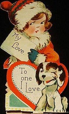1940's Valentine My Love to one I love