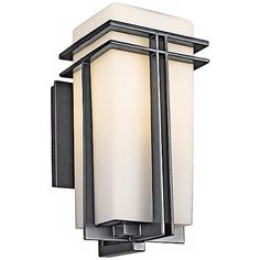 """Tremillo Collection Black 14 1/2"""" High Outdoor Wall Light"""