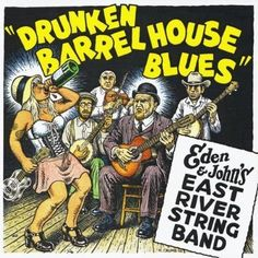 Album cover Illustrated by Robert Crumb