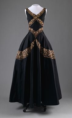 Evening dress, ca. 1938 -