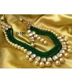 Ethnic Kundan Jewellery Sets with Prices Online Bridesmaid Jewelry Sets, Wedding Jewelry Sets, Bridesmaid Earrings, Bridal Jewelry, Bridal Accessories, Kundan Jewellery Set, Indian Jewelry Sets, Oxidised Jewellery, Silver Jewellery