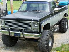 1979 4x4 Chevy Truck ©NancyWicks