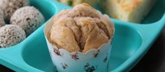Apple Banana Muffins - The 4 Blades