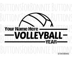 DIGITAL DOWNLOAD volleyball vectors in AI, EPS, GSD