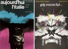 Roman-Cieslewicz--affiches-aujourd-hui-l-italie-1977-quand-les-cerveaux-dorment-1976