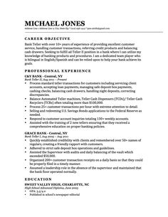 this is a professionally designed bank teller resume it demonstrates the candidates experience and qualifications - Sample Bank Teller Resume