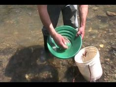Gold Panning Lesson. You know, in case I'm ever low on cash. ...