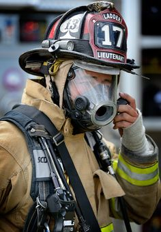 D800 Shot of Fireman  Unknown Photographer