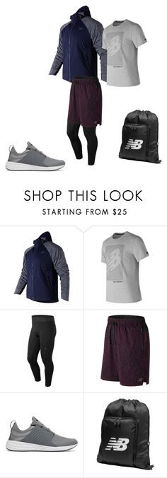 """Game Changer Athlete - December"" by new-balance ❤ liked on Polyvore featuring New Balance, men's fashion, menswear, Sports, NewBalance and gamechanger"
