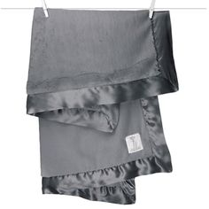 Little Giraffe - Luxe Blanket Charcoal