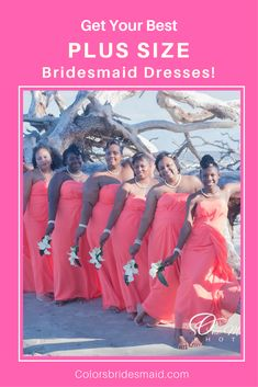 105f0bdae41bd 32 Best Plus Size Bridesmaid Dresses images in 2019