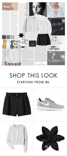"""""""//at least i'm being honest//"""" by the-last-of-vogue ❤ liked on Polyvore featuring Chanel, 3.1 Phillip Lim, NIKE, Acne Studios and ASOS"""