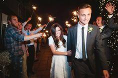 Sleepy Ridge Weddings & Events | Utah Venue | Orem | Sunset Room | Reception | Weddings | Sparkler Send Off | Mikki Platt Photography