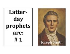 Great ideas for teaching Latter Day Prophets