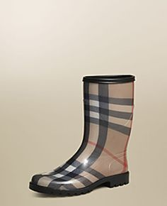 Burberry rainboot - perfect for slushy days