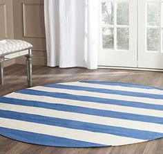 awesome Safavieh Montauk Collection MTK712A Hand Woven Yellow and Ivory Cotton Area Rug