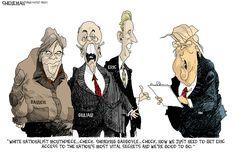 Drew Sheneman Editorial Cartoon, November 15, 2016     on GoComics.com