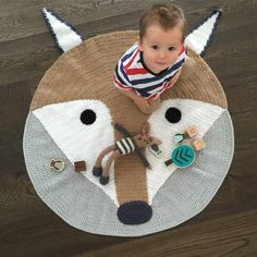 Our popular Foxey Playmat has just been restocked