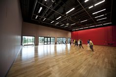 Performance centre dance studio