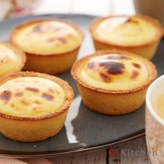 These cheese tarts will delight your taste buds with a creamy, rich flavour that melts in the mouth, complemented by an excellent crust that accentuates every yummy bite. Try your hand at making ou…