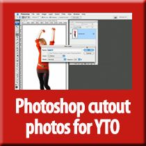 Doing cutouts the right way in Photoshop for YTO
