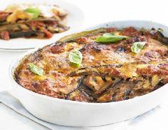 Low FODMAP Recipe : Eggplant, tomato & Parmesan bake (Melanzane alla Parmigiana -  http://www.ibssano.com/eggplant_tomato.html