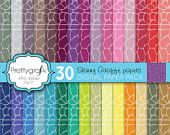 25% OFF 30 giraffe animal print digital paper pack, commercial use, scrapbook papers, instant download - PGPSPK596