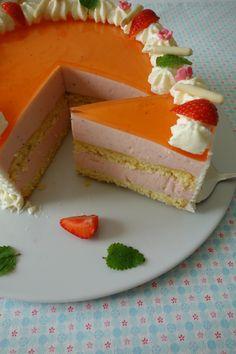 Erdbeer-Aperol Spritz-Torte   Die Küchenzuckerschnecke