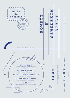 Return in the Swedish style on the Behance Network