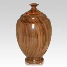 wood turned cremation urns - Google Search