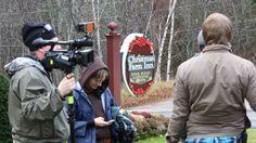 "Filming ""Ghost Hunters"" at the Christmas Farm Inn"