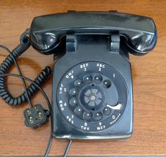 Vintage WORKING Western Electric Black Rotary Phone, Bell Systems Rotary Phone, Vintage Telephone, Black Phone, Vintage Western Electric by Lalecreations on Etsy