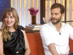 Video from the TODAY show: 'Fifty Shades of Grey' stars give first look at steamy film