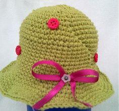 hannja / zelený klobúčik