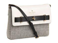 Kate Spade New York Bourbon Street Fabric Freddie Black/Beryl Green - Zappos Couture