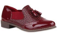 Let's style it back to college mit diesen stylischen Loafern: https://www.stiefelparadies.de/damen-slipper-klassische-slipper-dunkelrot-willington-77022-484/