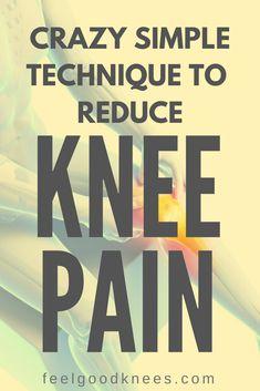 Crazy Simple Technique to Reduce Knee Pain Knee Arthritis Exercises, Knee Strengthening Exercises, Stretching Exercises, Stretches, Knee Pain Relief, Arthritis Pain Relief, Arthritis Remedies, Knee Osteoarthritis