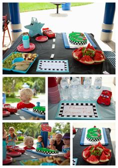 // CARS themed party