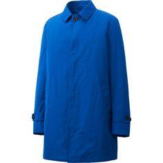 Mac coat in a French blue