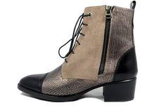 GHETE FRED bronz din piele naturala 100% Antiques, Shoes, Black, Fashion, Antiquities, Moda, Antique, Zapatos, Shoes Outlet