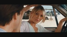 Cameron Diaz & Tom Cruise - in Knight and Day - With me, Without me.  One of my favorite movies!
