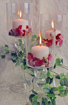3 Glass Pillar Candle Holders, $19   http://www.save-on-crafts.com/glass-pillar-candle-holders-3.html?gclid=Cj0KEQiA-MPCBRCZ0q23tPGm6_8BEiQAgw_bAgfiMkALG6FD-wg7a3kWKprPAqcqxfGR62k3qU1clM4aArxh8P8HAQ