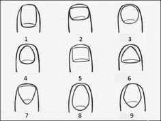 What Your Fingernails Reveal About Your Personality Phrenology, the idea of determining one's personality by their physical features, has Something About You, Things To Think About, Manicure Y Pedicure, Palmistry, Us Nails, Shape Of You, Perfect Nails, I Am Scared, Natural Cures