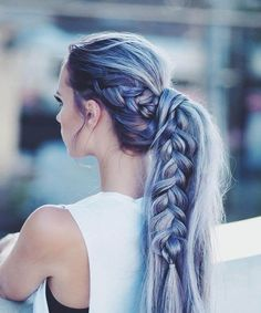 12 Of The Unbelievable Braided Pony Long Hairstyles for Women To Consider This Year