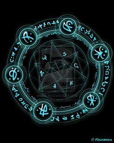 Looks vaguely atlantean - Magic Circle by fisukenka on deviantART