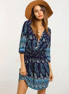 Kleid Allover-Blütenprint 46 38 Gr 40 Laura Scott 44