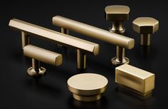 Look at these fabulous new pulls available in many different finishes including this beautiful satin brass! Stop in and look at them today!